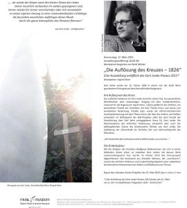 Ausstellung Auflösung des Kreuzes | Musilmuseum | 2015-03-12