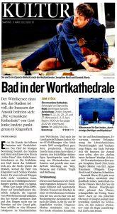 Bad in der Wortkathedrale | Kritik zu Die versunkene Kathedrale | Kleine Zeitung | 2013-03-09