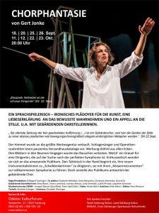 Chorphantasie | Odeïon Kulturforum Salzburg | 2014-09-18 bis 2014-10-23