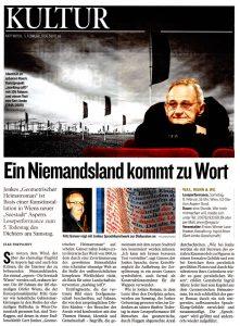 Ein Niemandsland kommt zu Wort | Kleine Zeitung | 5. Februar 2014 | Seite 65