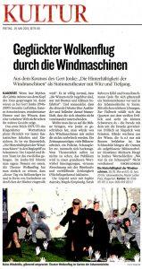 Geglückter Wolkenflug durch die Windmaschinen | Kritik | Kleine-Zeitung | 2015-05-29