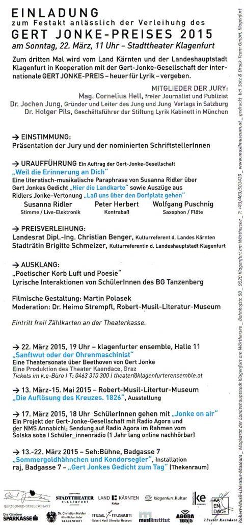 Einladung Gert-Jonke-Preis 2015 Seite 2