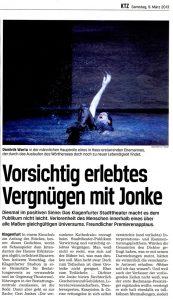 Vorsichtig erlebtes Vergnügen mit Jonke | Kritik zu Die versunkene Kathedrale | KTZ | 2013-03-09