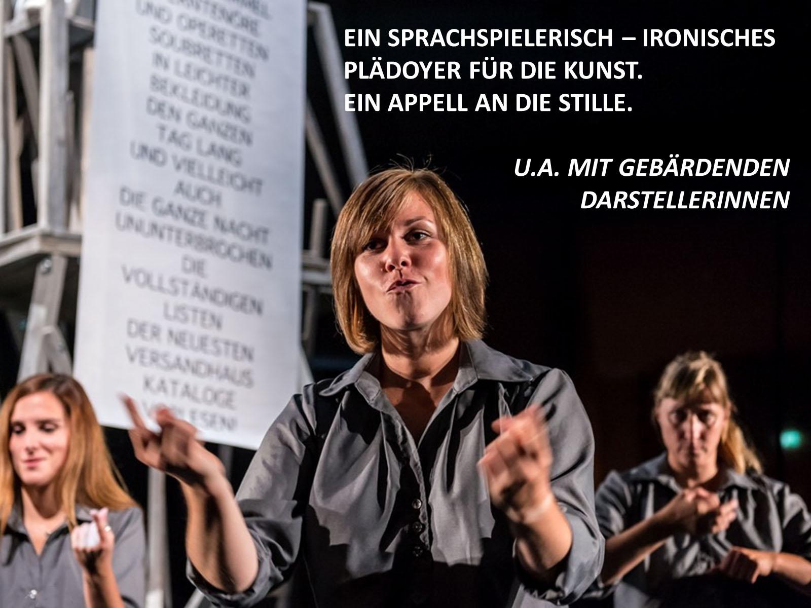 Chorphantasie | Odeïon Kulturforum Salzburg | 2014-09-18 bis 2014-10-23 | Foto © Albert Moser | 3