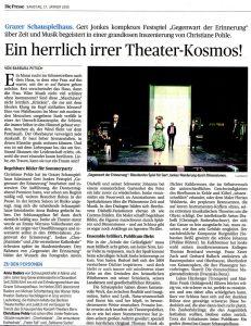 Ein herrlich irrer Theater-Kosmos | Die Presse | 2015-01-17