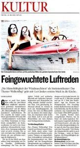 Feingewuchtete Luftreden | Die Hinterhältigkeit der Windmaschinen | Kleine Zeitung | 2015 05 22