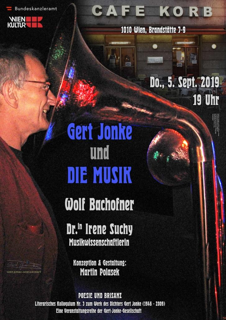 Gert Jonke und DIE MUSIK | Poesie und Brisanz | Gert Jonke-Gesellschaft