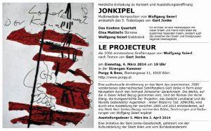JONKIPEL - Multimediale Komposition von Wolfgang Seierl